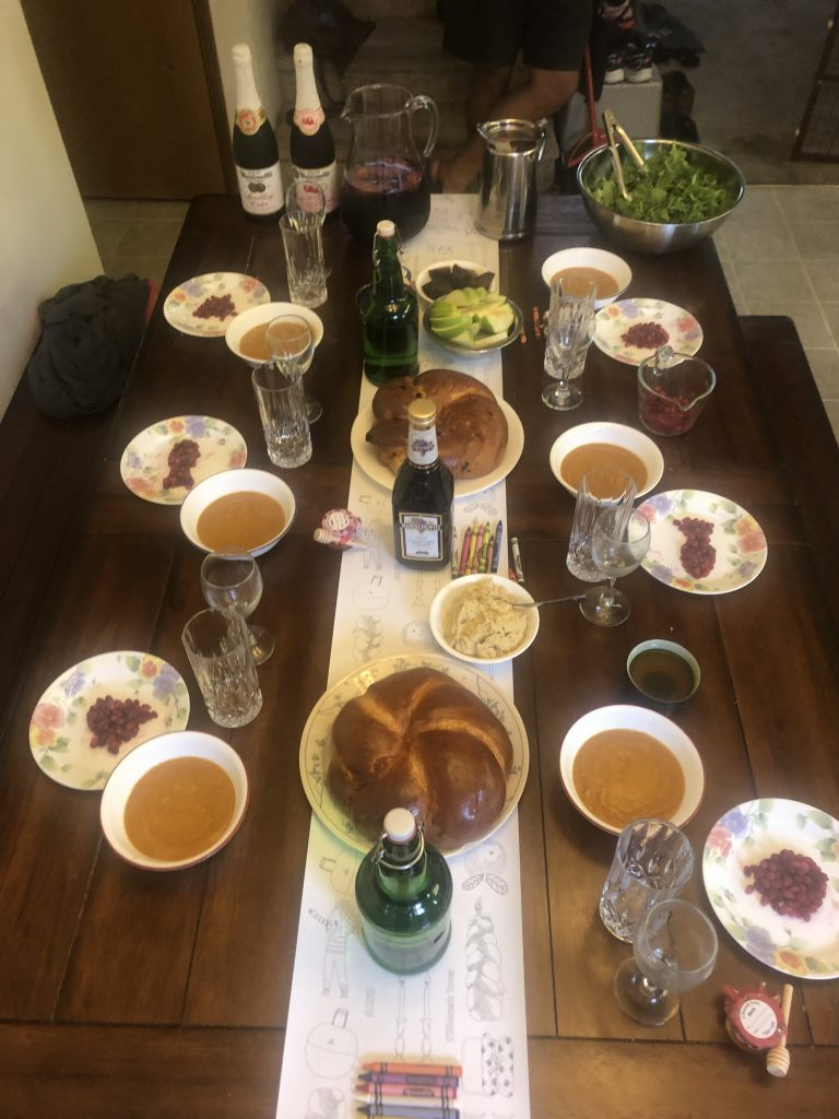 Rosh Hashanah Meal
